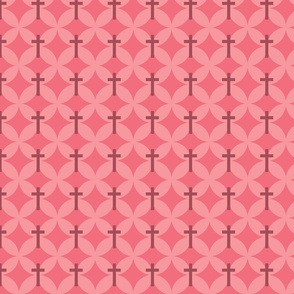 Flower Petal Crosses