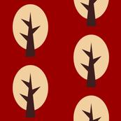 geometric tree red
