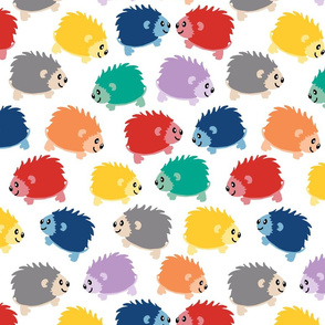 Happy Little Hedgehogs