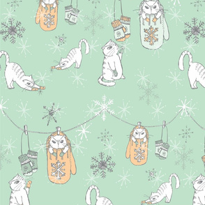 KITTENS_MITTENS___SNOWFLAKES