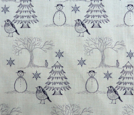 Winter Toile