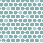 Nordic Dots Teal (custom)