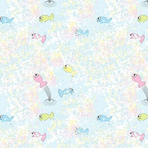 Little Fishes in the faom