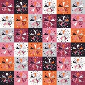 Circus Squares - Autumn Rose