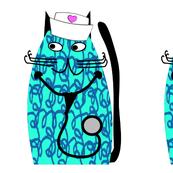 Nurse Cat Blue