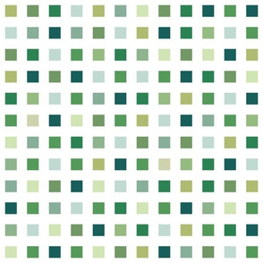 bromothymol pH squares - greens (pH 6.4-7.2)
