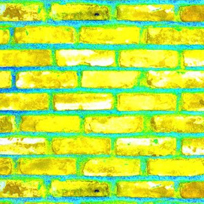 Magical Brick Road Yellow n Lime