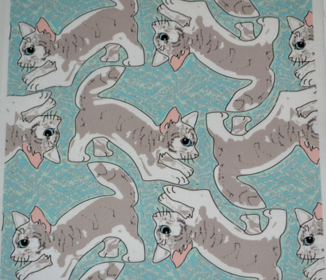 Pouncing Tabby Kitties 2