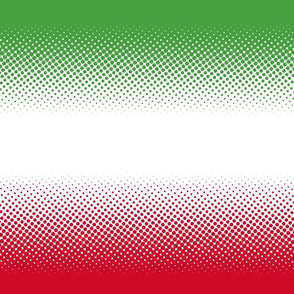 christmas gradient (green-white-red)