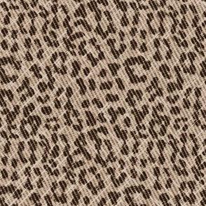 Snow Leopard scuffed coffee