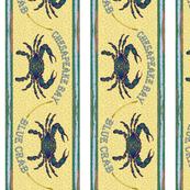 Blue Crab Border Small