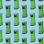 creeper mine craft monster game