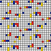 Mondrian Cuisenaire