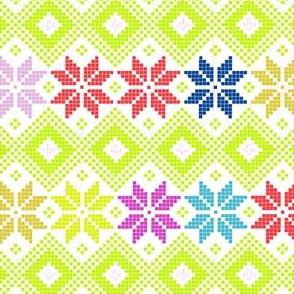 Nordic Star multi Medium White