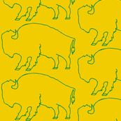 Bison_Green_ and_Gold