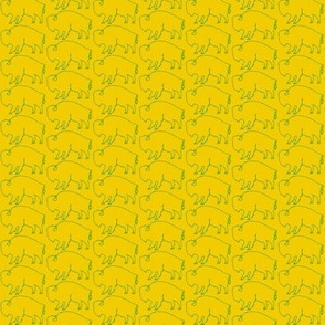 Bison_Green_ and_Gold - Small Print