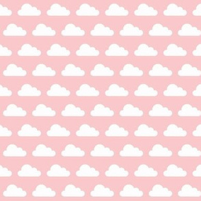 Puffy Clouds - pink