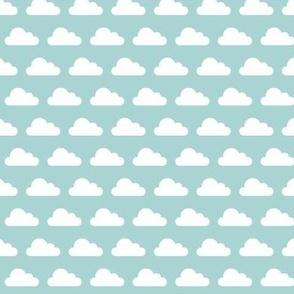 Puffy Clouds - Blue