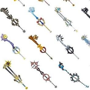 Kingdom Hearts - Key Blades