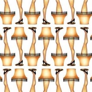 Leg Lamp on White