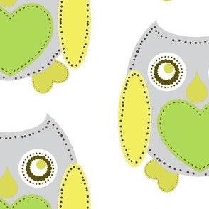 Lovely Owl - Gray
