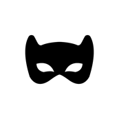 black bat mask