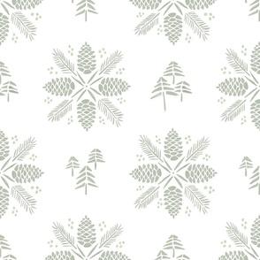 Pine Tree Toile
