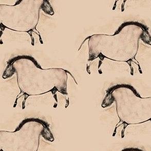 Modern Cave Horse