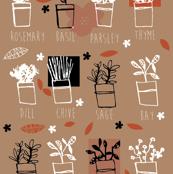 Rustic herbs