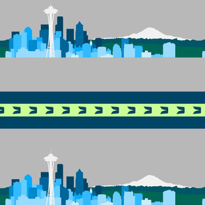 Seattle Sports Skyline