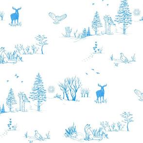Scandinavian Winter Toile