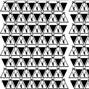 Monochrome Stag