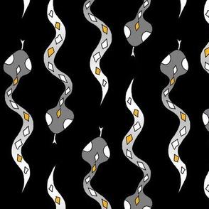 snakes black