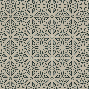 Geometric Stars in Green