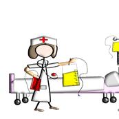 Nurse Hospital Scene