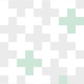 Wholecloth Plus Quilt Top // Mint and Light Grey