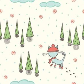 Walk in the woods - cream