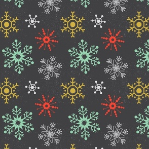 Winter Snowflakes - Multi
