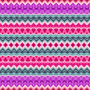 Princess Pink Tribal Pattern