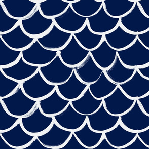 Fish  Scale White on Navy-REVISED Dec12th-3
