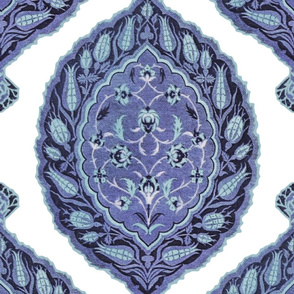 Turkish Delight ~ Blue and White