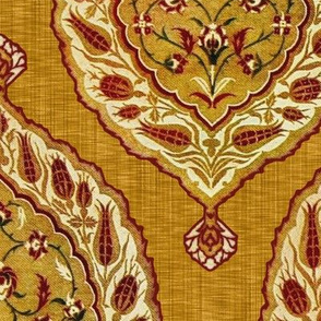 Turkish Delight ~ Goldenrod Linen