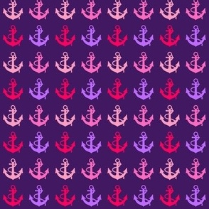 Purple Anchors
