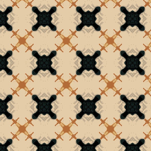 Abstract Trellis Pattern