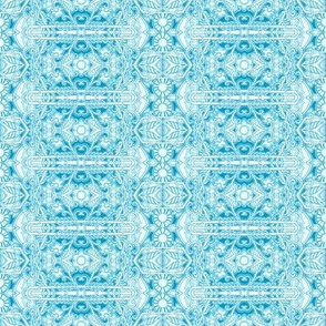 A Cyan Slice of the Victorian