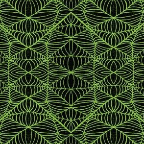 Webs, black-green