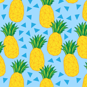 geometric pineapples