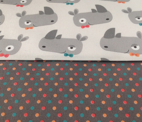 Dots for Rhinoceroses with bow ties