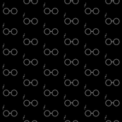 "Black Glasses 3"""