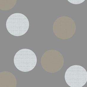 Phi Dots on Sandstone Gray